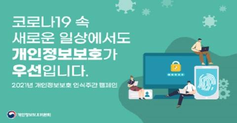 2021년 개인정보보호 인식주간 캠페인